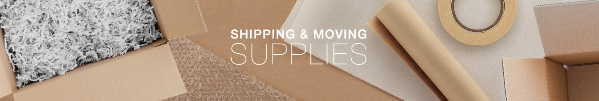 Shipping & Moving Supplies