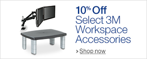 10% Off Select 3M Workspace Accessories with Amazon Coupons