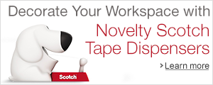 Decorate Your Workspace with Novelty Scotch Tape Dispensers