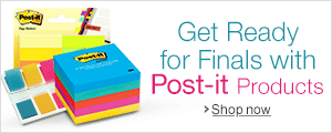 Get Ready for Finals with Post-it Products