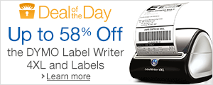 Deal of the Day: Up to 58% Off the DYMO LabelWriter 4XL and Labels