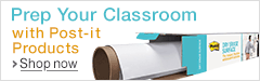 Prep Your Classroom with Post-it Products