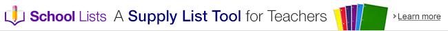 A supply list tool for teachers