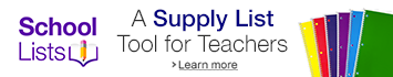 A supply list tool for teachers