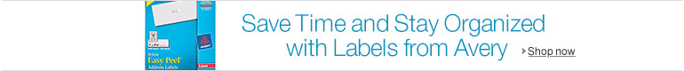 Save Time and Stay Organized with Labels from Avery
