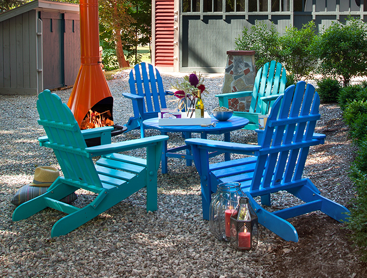 Patio Seating Furniture Chairs adirondack