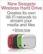 New Seagate Wireless Storage