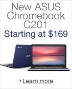 New ASUS Chromebook C201