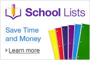 Back to School Shopping made easy with Amazon School Lists