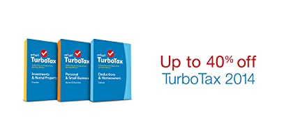 TurboTax 2014 Up to 40% off