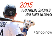 Franklin 2015 Baseball Batting Gloves