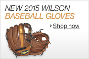 Wilson 2015 Baseball Gloves