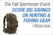 Big Savings in the Fall Sportsman Event