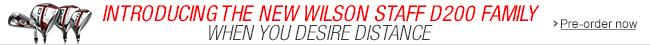 2015 Wilson D200 Golf Clubs