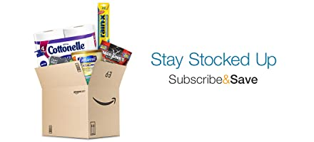 Subscribe & Save: Stay Stocked Up