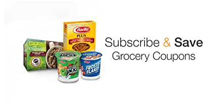 Subscribe & Save Grocery Coupons