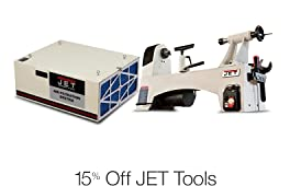 15% Off Select JET Tools