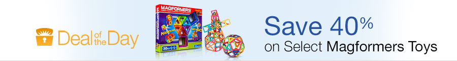 Deal of the Day-Magformers toys