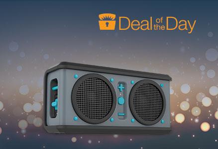 Skullcandy Air Raid Water-resistant Drop Proof Bluetooth Portable Speaker
