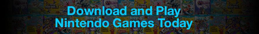Nintendo Digital Game Downloads