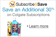 Save an Additional 30% on Colgate Subscriptions