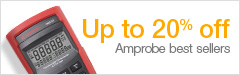 Save up to 20% on Amprobe Product