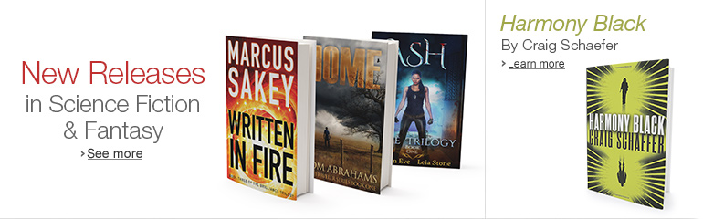 Featured Science Fiction & Fantasy Titles for February