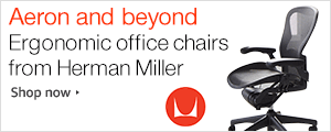 Aeron and Beyond. Ergonomic Office Chairs from Herman Miller