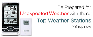Be prepared for Unexpected Weather with these Top Weather Stations