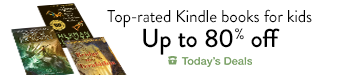 Top-rated Kindle books for kids, up to 80% off, today only