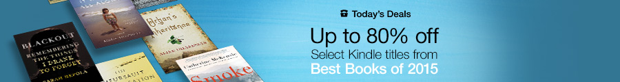 Up to 80% Off Books from Amazon Editors' Best Books of 2015