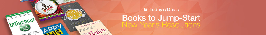 Up to 80% Off Books to Jump-Start New Year's Resolutions