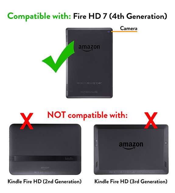 To view accessories for Kindle Fire HD (3rd Generation) , click here .