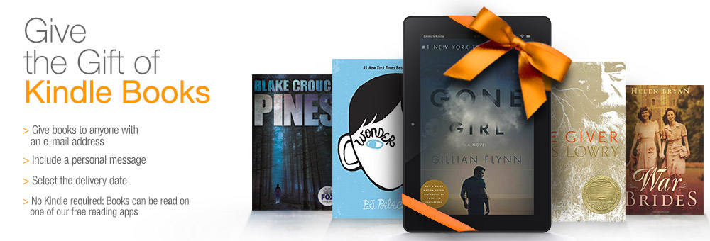Give the Gift of Kindle Books