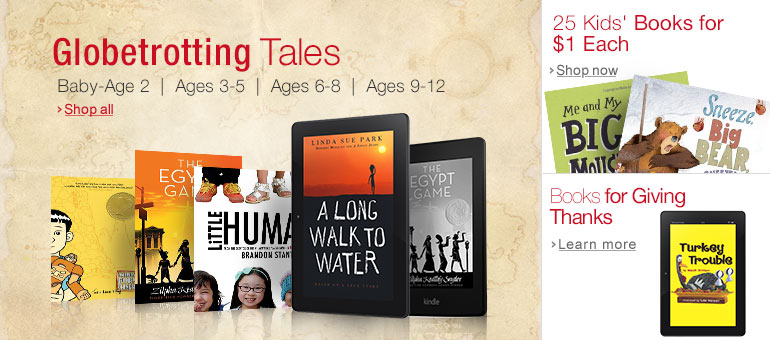 Geography and Culture Kids Books on Kindle