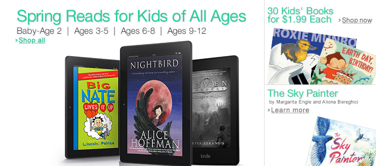 Spring Reads for Kids of All Ages