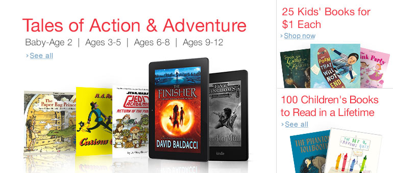 Tales of Action & Adventure on Kindle