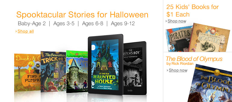 Children's Halloween Books on Kindle