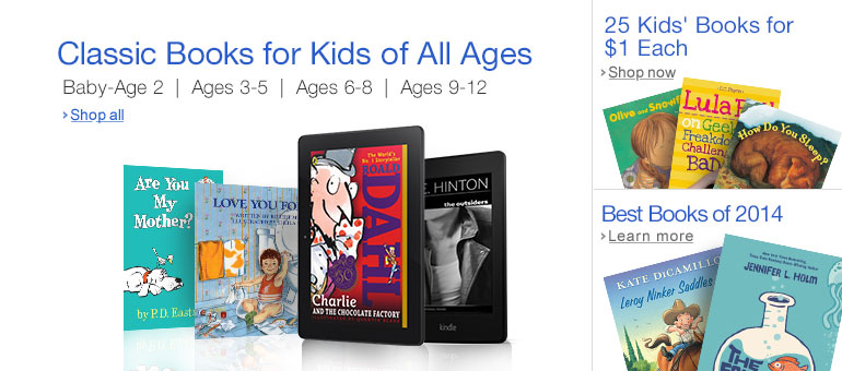 Classic Children's Books on Kindle