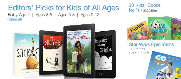 Editors' Picks for Kids of All Ages