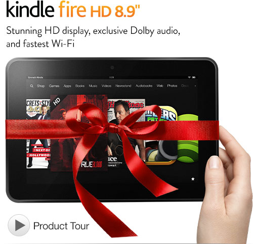 Today only, save $50 on Kindle Fire HD 8.9″(Dec-10-2012)
