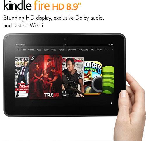 kindle海淘:Kindle Fire HD 8.9寸平板电脑 16G  加入学生计划再减50美元