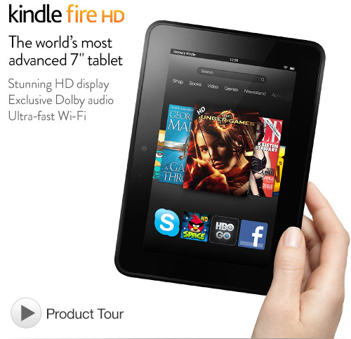 Update with technology - Black Friday Kindle Fire HD deal