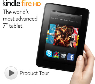 Kricket's Konfessions: Kindle Fire HD Review