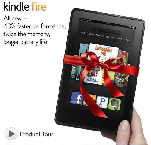 Kindle Fire 7″, LCD Display, Wi-Fi, 8 GB – Includes Special Offers