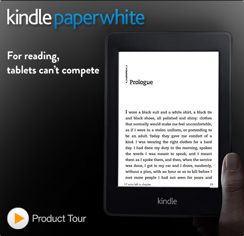 Kindle Paperwhite e-reader: quick tour