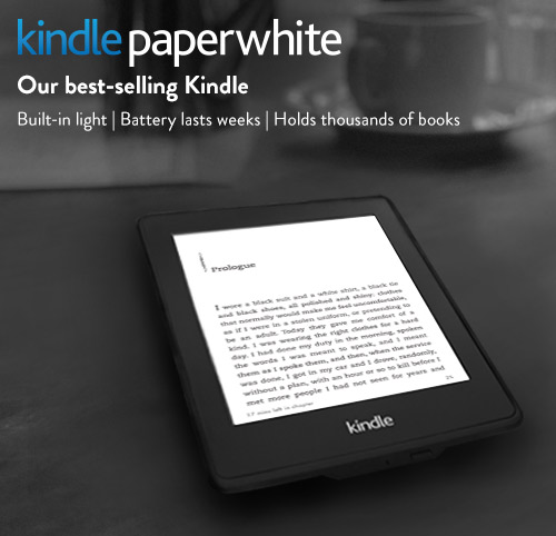 Help on writing kindle paperwhite