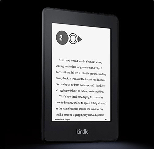The kindle is a great Christmas gift for Dads who love reading!