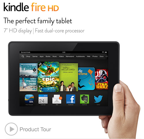 Hands On With The New Kindle Fire HD, 2nd Generation