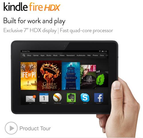 Amazon做人厚道,预定PS4的童鞋,可以免费获得Kindle Fire HDX 7 $30优惠代码